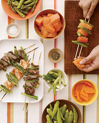 Food & Wine: Grilled kebabs tips