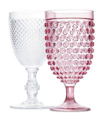 Food & Wine: Acrylic goblets