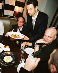 Food & Wine: Tom Colicchio gets the star treatment at BondSt.