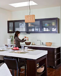 Food & Wine: Make eco-conscious kitchen-design choices.