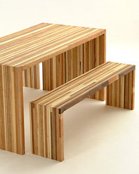 Food & Wine: Eco-friendly table