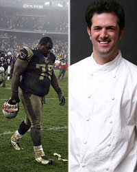 Food & Wine: Vince Wilfork and Tony Maws