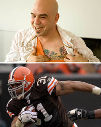 Food & Wine: Michael Symon and Jamal Lewis if the Cleveland Browns