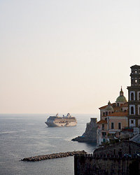 Food & Wine: Oceania sails the Amalfi coast