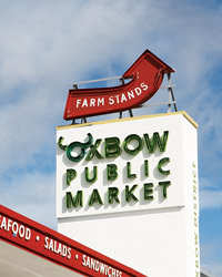 Food & Wine: The formerly neglected downtown in the city of Napa is the Valley's new food frontier. One of its latest draws is the 40,000-square-foot Oxbow Public Market.