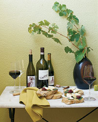 Food & Wine: Artisanal cheeses.