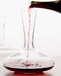 Food & Wine: Orseggi decanter from Alessi.