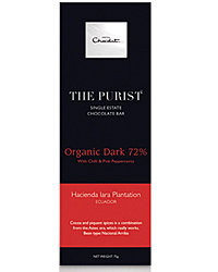 Food & Wine:  Purist Chocolate Bars from Hotel Chocolat