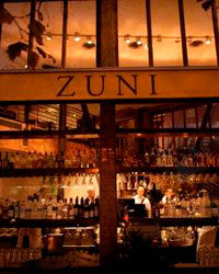 Food & Wine: Exterior of Zuni Café in San Francisco.