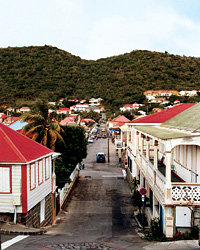 Food & Wine: Town of Gustavia in St. Barts