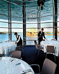 Food & Wine: Quay looks right out on Sydney's Opera House.