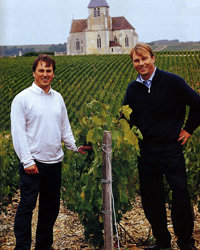 Food & Wine: Stephane and Julien Brocard. Photo courtesy of Brocard.