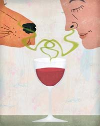 Food & Wine: Learning to sniff out corked wine.