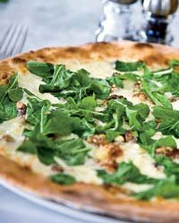 Food & Wine: Crisp-crusted pizza at Joey's.