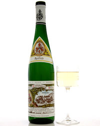 Food & Wine: 2007 Maximin Grünhauser Abtsberg Spätlese Riesling ($31). Photo © Terry Monk.