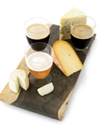 Food & Wine: Beer and cheese.