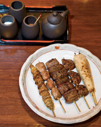 Food & Wine: Yakitori.