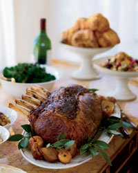 Food & Wine: Substantial rib roasts go well with robust red wines. Photo © John Kernick.