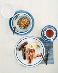 Food & Wine: Healthy granola, rustic sausages and smokehouse bacon.