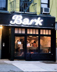 Food & Wine: Bark Hot Dogs in Brooklyn.