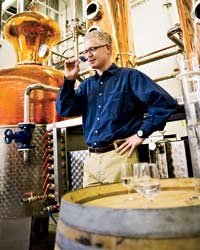 Food & Wine: David Perkins's ski-up distillery and saloon makes artisanal whiskeys and vodkas.