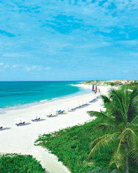 Food & Wine: Anguilla beach.