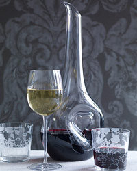 Food & Wine: Curvy Glasses.