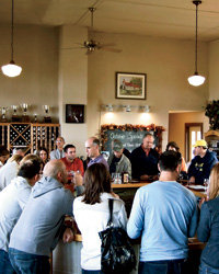 Food & Wine: Peninsula Cellars, in a former schoolhouse, offers a vineyard-geography lesson.