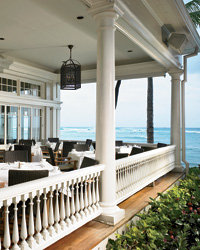 Food & Wine: The Moana Surfrider hotel serves a traditional afternoon tea on its wide-planked veranda.