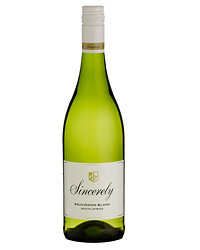 Food & Wine: 2009 Sincerely Sauvignon Blanc ($14). Photo © Neil Ellis Sincerely.