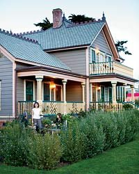 Food & Wine: Cass House Inn, Cayucos, California.