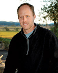 Food & Wine: Thomas Rivers Brown makes high-end Cabernet for 15 different labels. Photo © Carol Schrader.