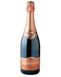 Food & Wine: NV Roederer Estate Brut Rosé ($27). Photo courtesy of Maisons Marques & Domaines.