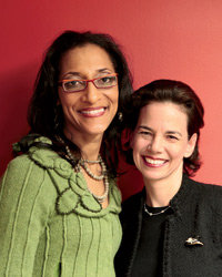 Food & Wine: Dana Cowin and Carla Hall.
