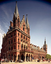 Food & Wine: London City Guide: St Pancras Renaissance Hotel
