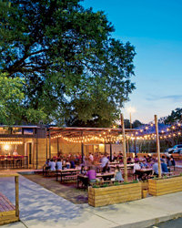 Food & Wine: Alfresco Dining: Contigo Austin