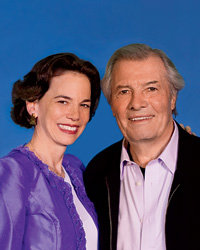 Food & Wine: Dana Cowin and Jacques Pepin.