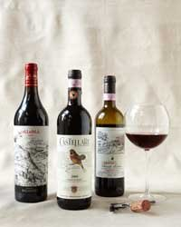 Food & Wine: Chianti: Tuscan Vineyard