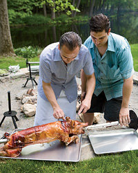 Food & Wine: Pig roast