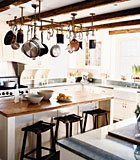 Food & Wine: 19th-Century Modern | A Kitchen with 19th-Century Style