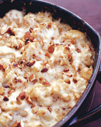 Food & Wine: Cauliflower Gratin with Manchego and Almond Sauce