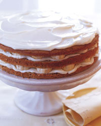 Food & Wine: Banana Layer Cake with Mascarpone Frosting