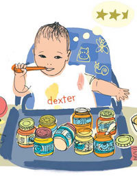 Food & Wine: Raising a Baby with a Four-Star Palate | Four-Star Baby Food