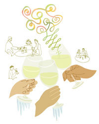 Food & Wine: White wine: too darn cold?