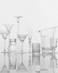 Food & Wine: Good glassware.