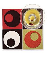 Food & Wine: Op Art design