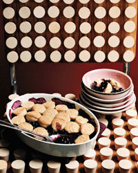 Food & Wine: Blueberry Cobbler with Honey Biscuits