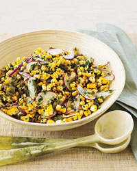 Food & Wine: Raw Corn and Radish Salad with Spicy Lime Dressing