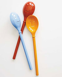 Food & Wine: Zak! Design's Happy Spoons