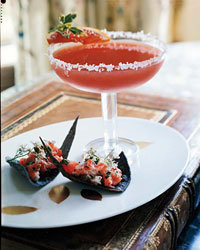 Food & Wine: Blood Orange Margaritas